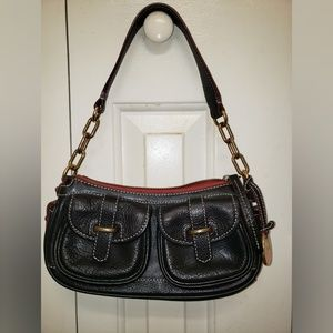 Dooney & Bourke Bags - Dooney & Bourke Vintage Black Hand Bag